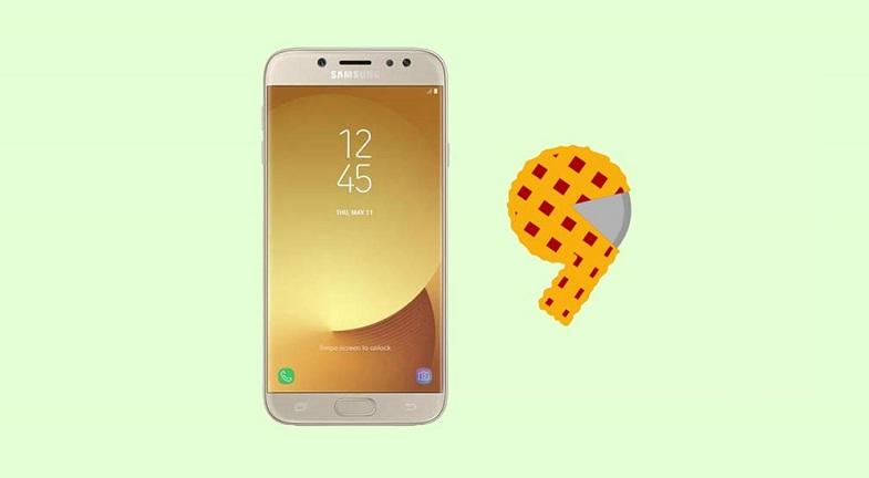 Galaxy J7 Pro Android 9 Pie güncellemesi için son günlerdeyiz