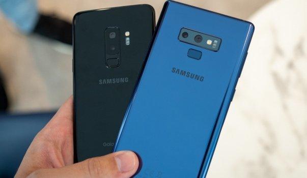 Gece modu Galaxy S9 Plus ve Galaxy Note 9 kullanıcılarının başına iş açtı