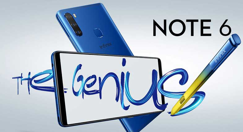 Galaxy Note 6'dan oluşan boşluğu Infinix Note 6 dolduruyor