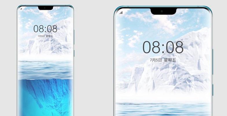 Huawei Mate 30 Pro ekranı normalden daha eğri görünüyor
