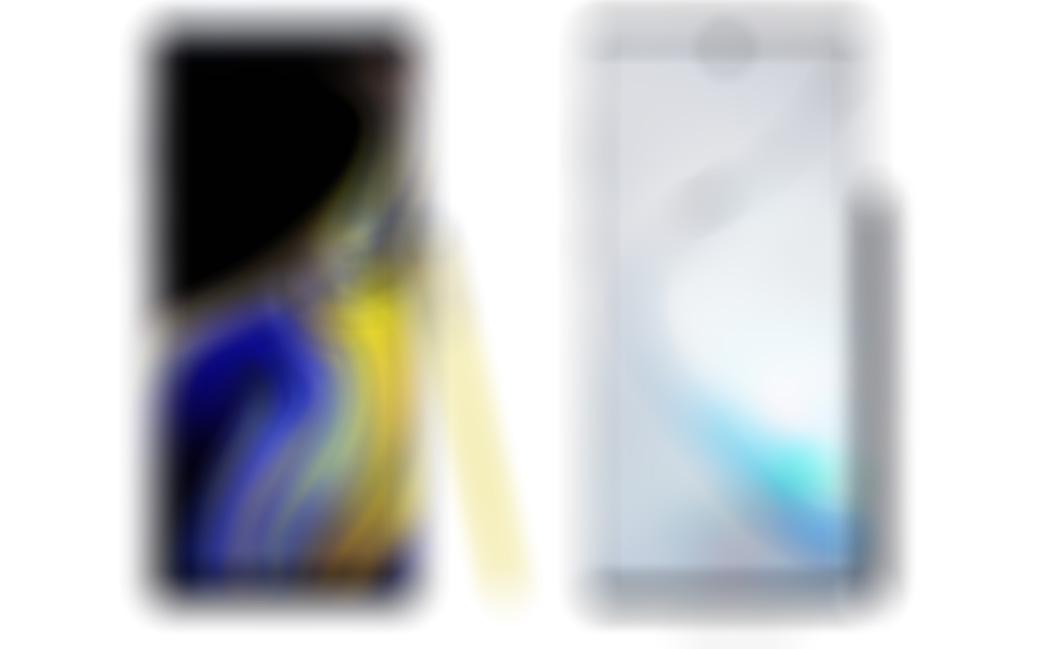 Galaxy Note 9 ve Galaxy Note 10 yan yana! Değişime bakar mısınız?