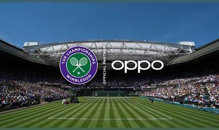Oppo Wimbledon ile çime çıkıyor! Topraktan geldik Çime çıkıyoruz!