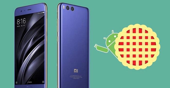 Xiaomi Mi 6 Android 9 Pie güncellemesi dünya geneline yayıldı
