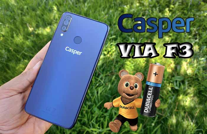 Casper VIA F3 Pil Testi! İyisin, hatta çok iyisin Casper