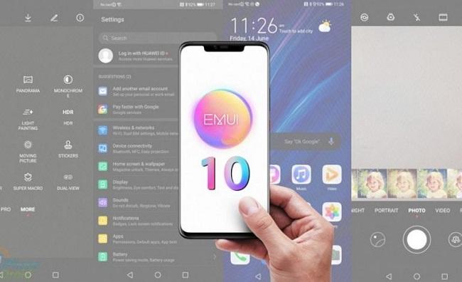 Huawei EMUI 10 güncellemesi 33 telefon / tablet için onaylandı