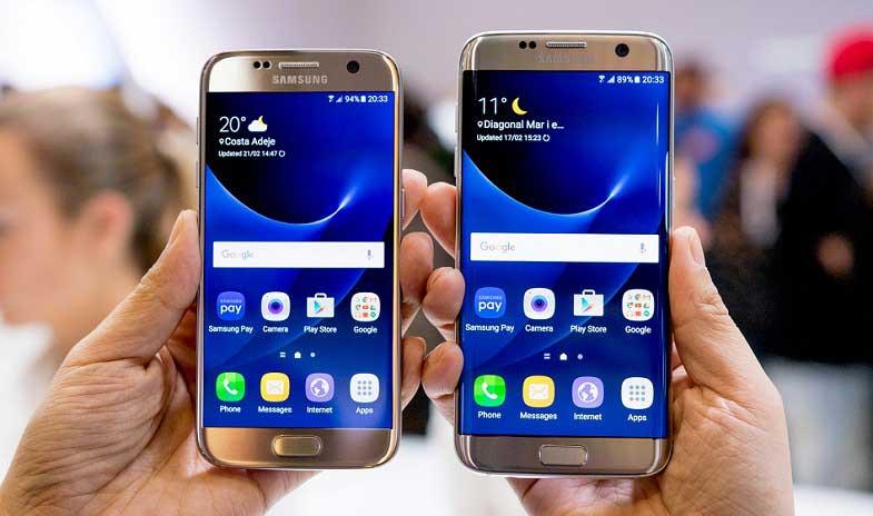 Galaxy S7 edge ve Galaxy S7 için bir güncelleme daha