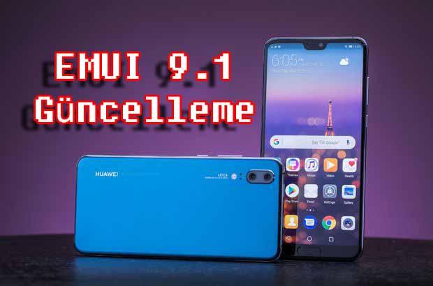 Huawei P20 Pro Türkiye güncellemesi tam 4GB! Güncellemede ne mi var?