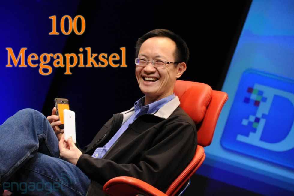 Xiaomi Başkanı Lin Bin 100 megapiksel dedi!