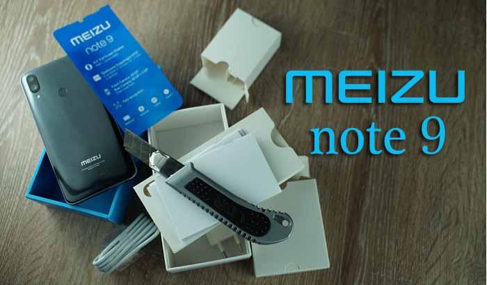 Meizu Note 9 kutu açılışı! Bu nasıl iflas Meizu Bey?