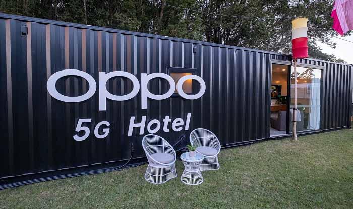 OPPO 5G otelde bir gece kalmak ister misiniz? Biz isteriz!