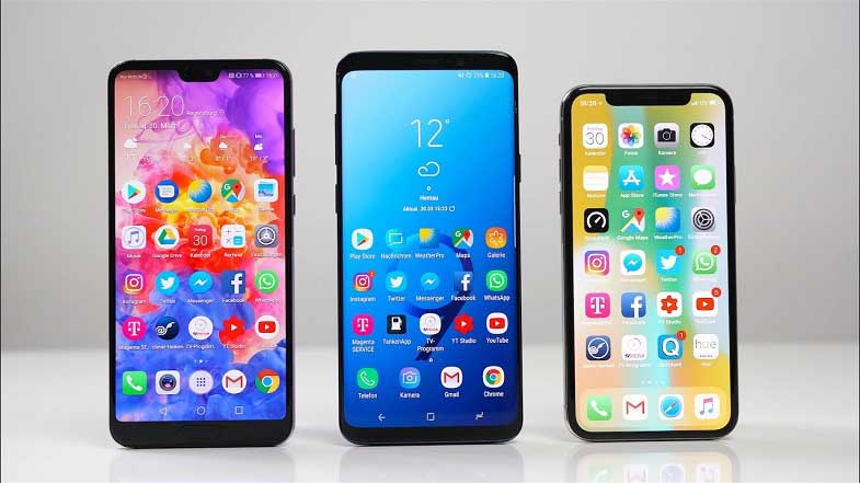 Samsung Huawei ve Apple rekabetinde son durum!