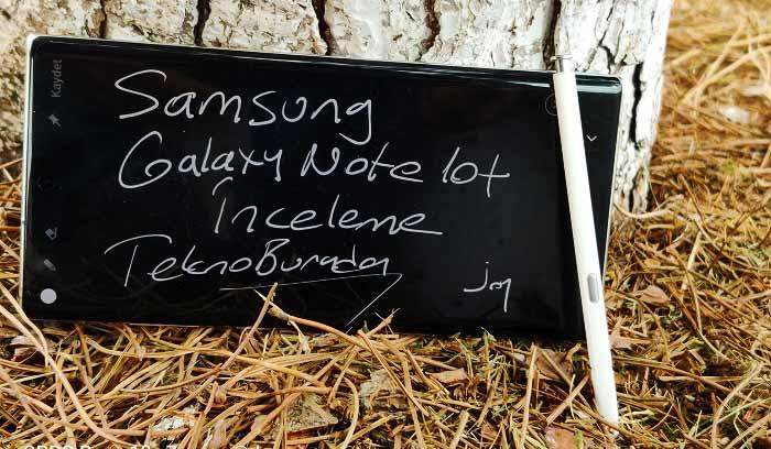 Samsung Galaxy Note 10 Uzun Kullanım Testi