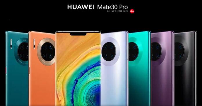 Huawei Mate 30 serisi resmen satışa sunuldu! İşte fiyatlar