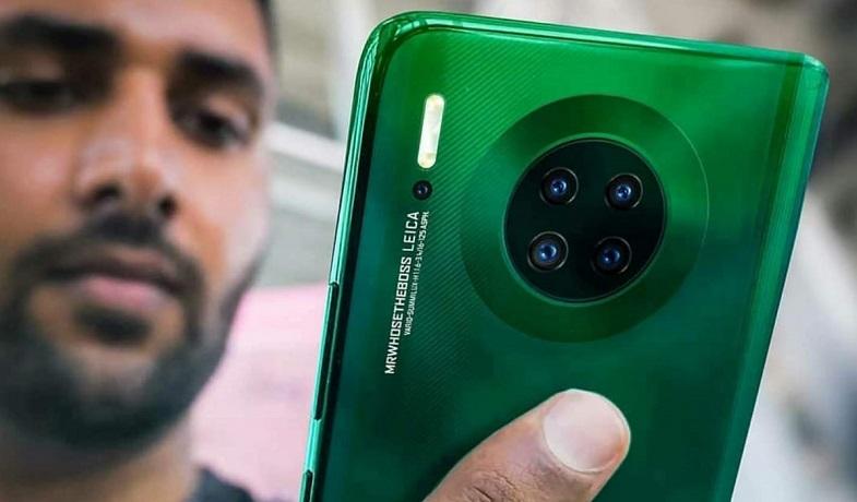 Huawei Mate 30 tasarımı netlik kazandı!