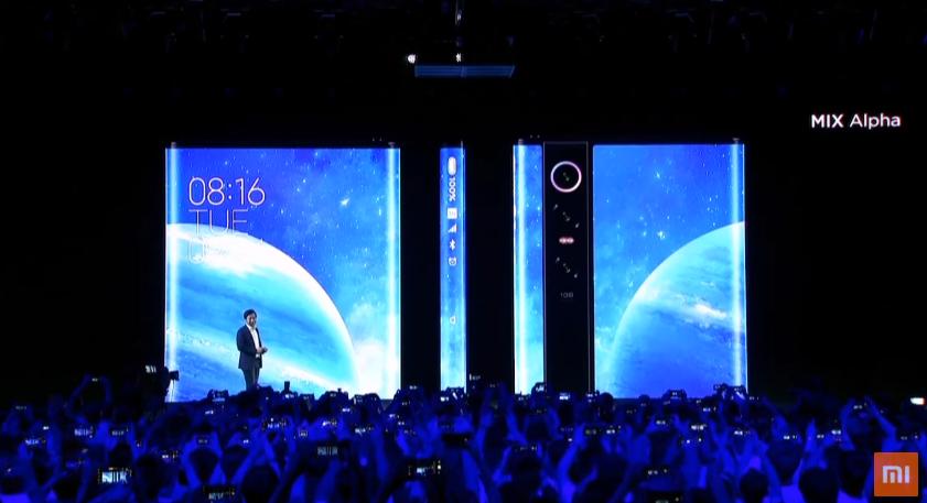 Xiaomi Mi Mix Alpha tasarımı Apple'dan mı çalıntı?