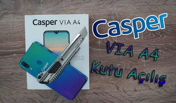 Casper VIA A4 kutu açılışı! Casper'ın en iddialısı