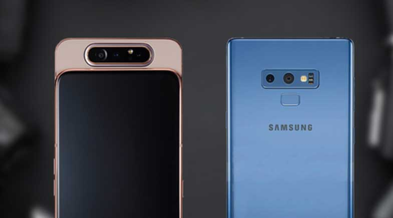 Galaxy Note 9 ve Galaxy A80 için yeni güncellemeler!