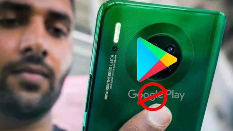 Huawei Mate 30 Google uygulamalarını artık kullanamayacak!