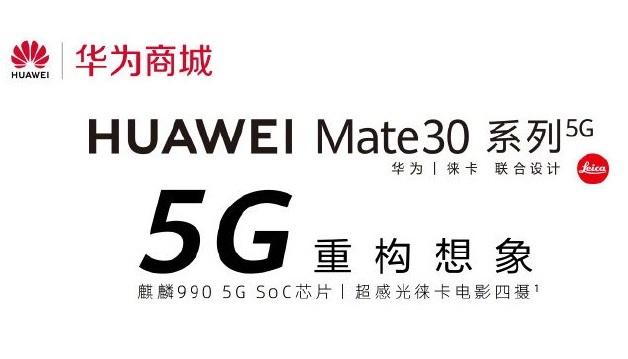 Huawei Mate 30 Pro 5G dudak uçuklatan fiyatı ile satışta