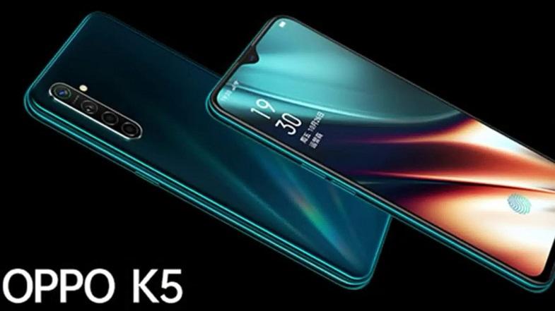 OPPO K5 tanıtıldı! Şimd Redmi Note 8 Pro düşünsün