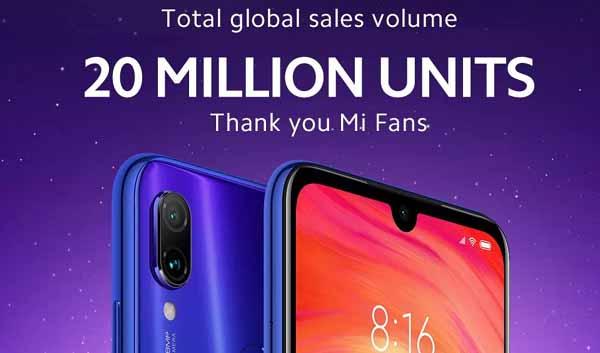 Xiaomi Redmi Note 7 20 milyon dedi!