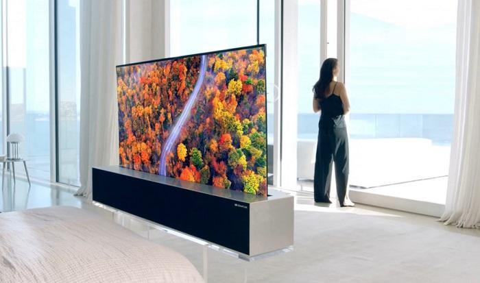 LG'den yeni saçmalık! Şelale ekranlı televizyon