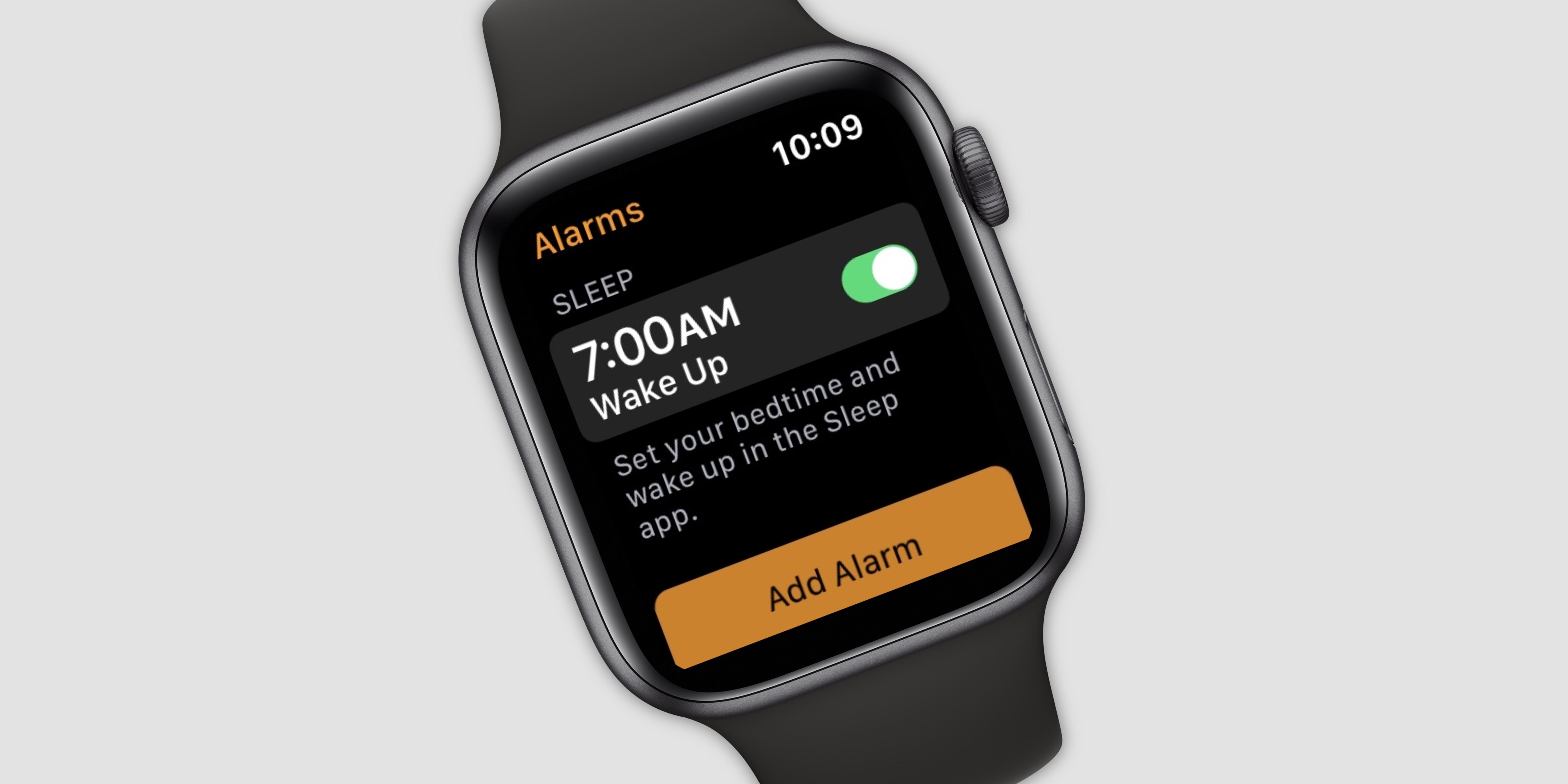 Apple Watch uyku uygulaması ile sizi mışıl mışıl uyutacak!