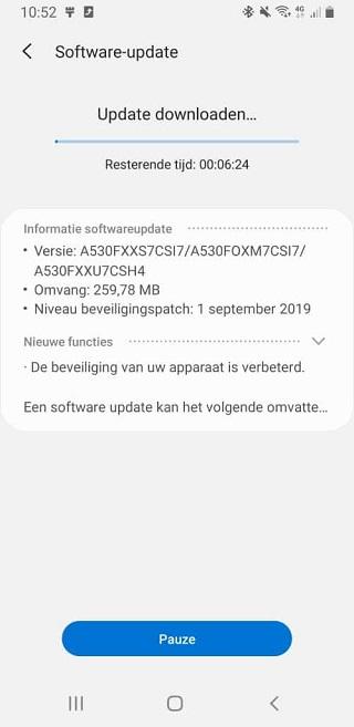 Samsung Galaxy A8 2018 için eylül güncellemesi başladı