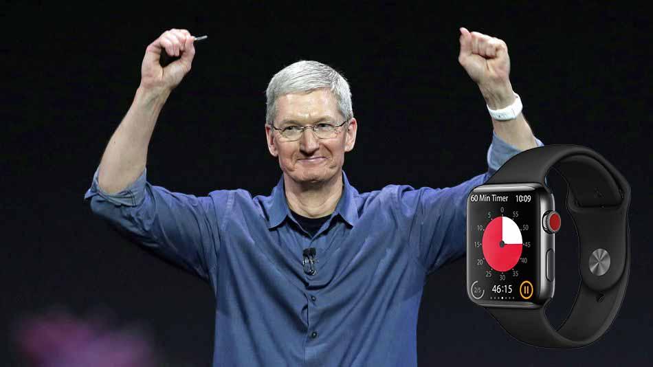 Apple Watch Tim Cook için can simidi oldu!