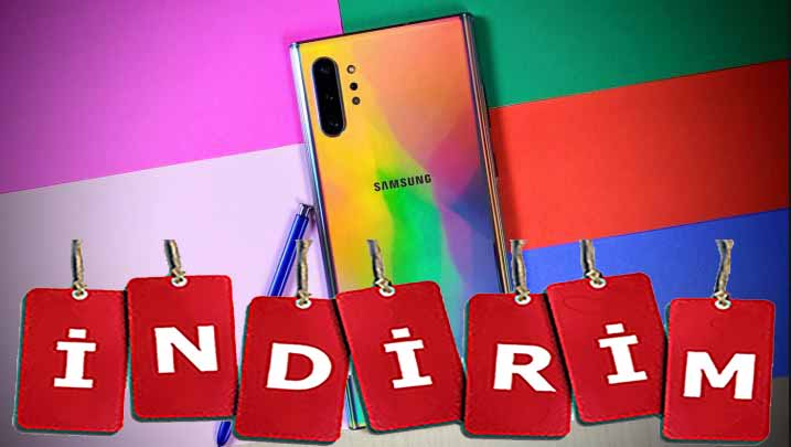 Galaxy Note 10 Plus indirim aldı! Patron gerçekten çıldırdı