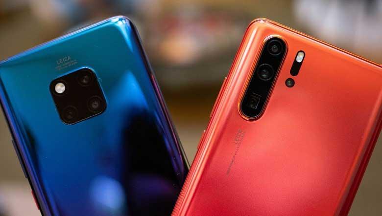 Huawei Mate 20 ve Huawei P30 serisi telefonlar yüzleri güldürüyor