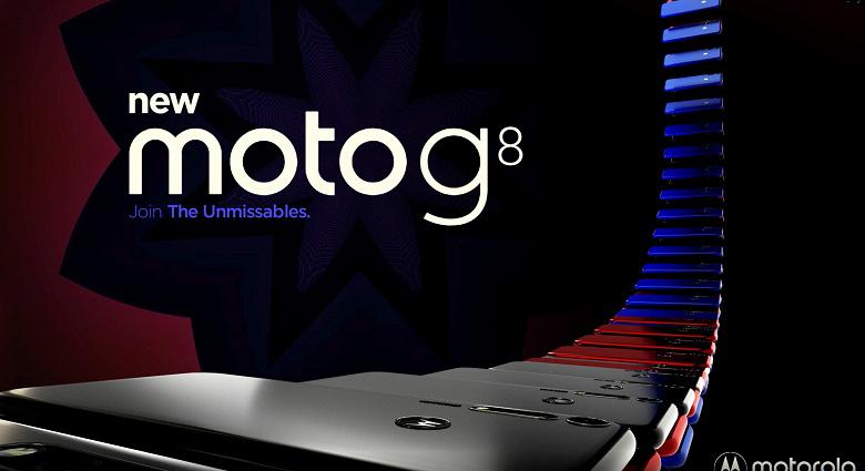 Motorola RAZR 2019'un yancısı Motorola Moto G8 de ortaya çıktı