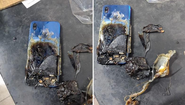 Redmi Note 7S durup dururken yandı! Xiaomi'den ise beyin yakan yanıt geldi