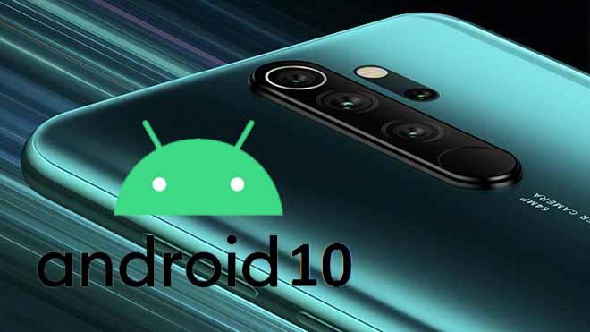 Xiaomi Redmi Note 8 Pro Android 10 ile göründü!