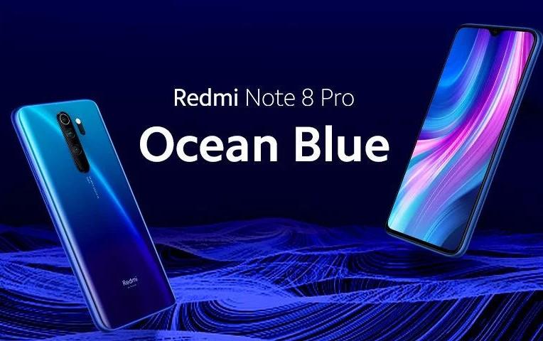 Redmi Note 8 Pro Okyanus Mavisi rengi satışa sunuluyor