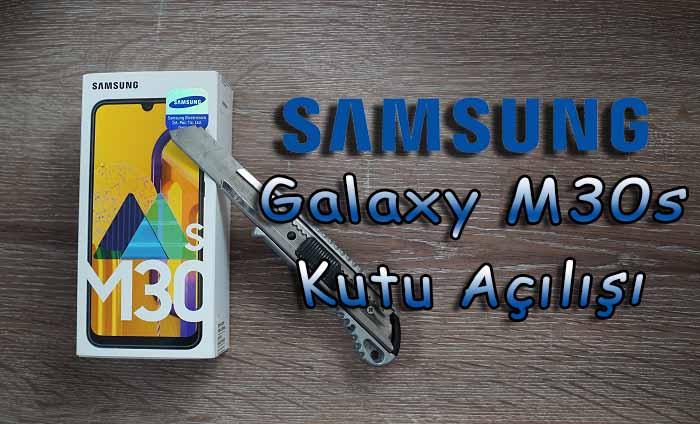 İnceleme tadında Samsung Galaxy M30s kutu açılışı