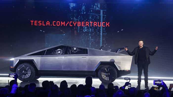 Tesla tuhaf bir şey tanıttı! Tesla Cybertruck kamyonet ile tanışın