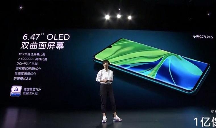 Xiaomi Mi Note 10 ekranını kim üretti? Samsung? BOE?