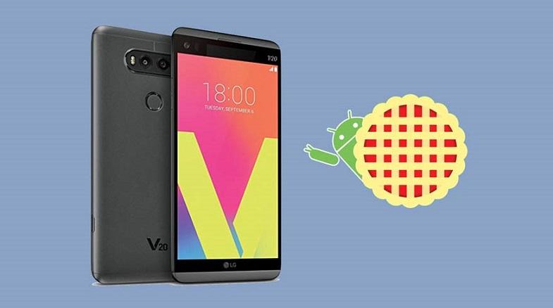 LG V20 Android 9 Pie güncellemesi sonunda dağıtıma sunuldu