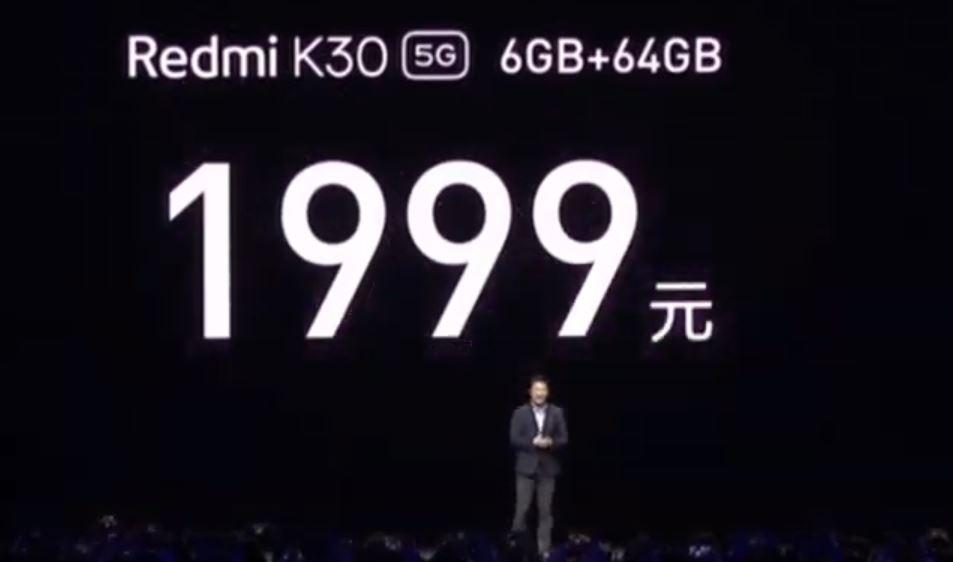 Redmi K30 5G ve Redmi K30 4G fiyat açıklandı! Bedava yapsaydınız