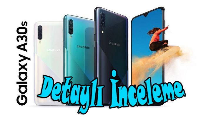Samsung Galaxy A30s inceleme! Samsung'un en şık telefonu…