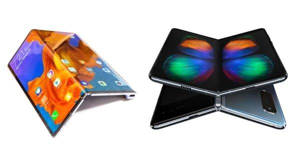 Kullanıcılar Galaxy Fold ve Mate X tasarımlarını beğenmiyor! Peki siz?