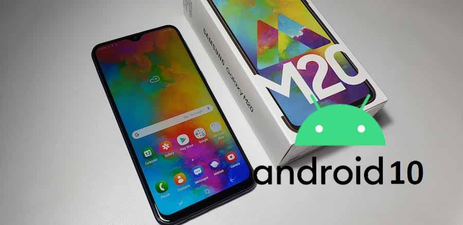 Samsung Galaxy M20 Android 10 güncellemesi başladı