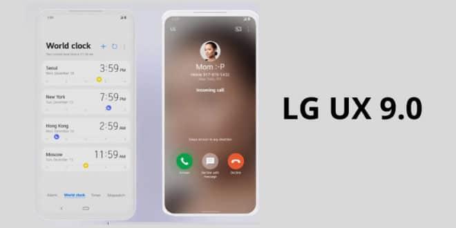 LG UX 9.0, Samsung One UI'dan epey ilham almış