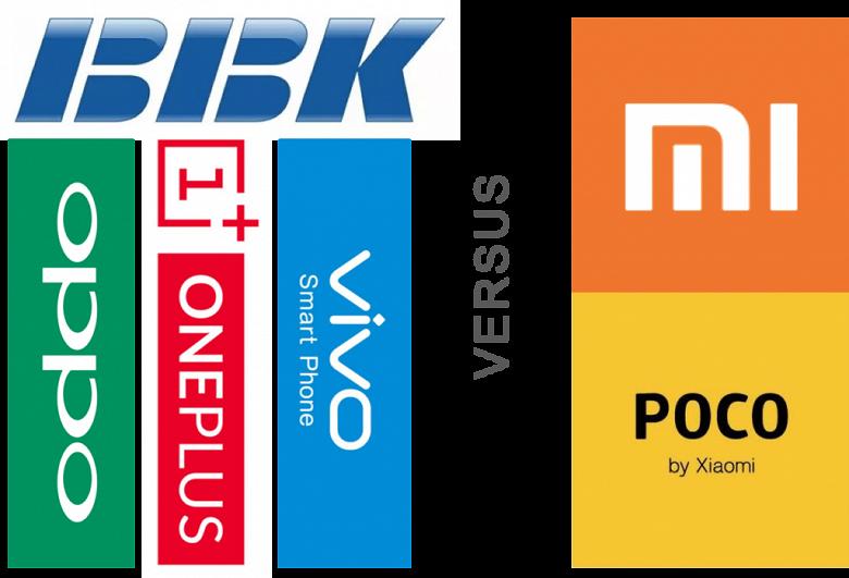 Xiaomi'yi bekleyen tehlike! Realme OPPO ve Vivo
