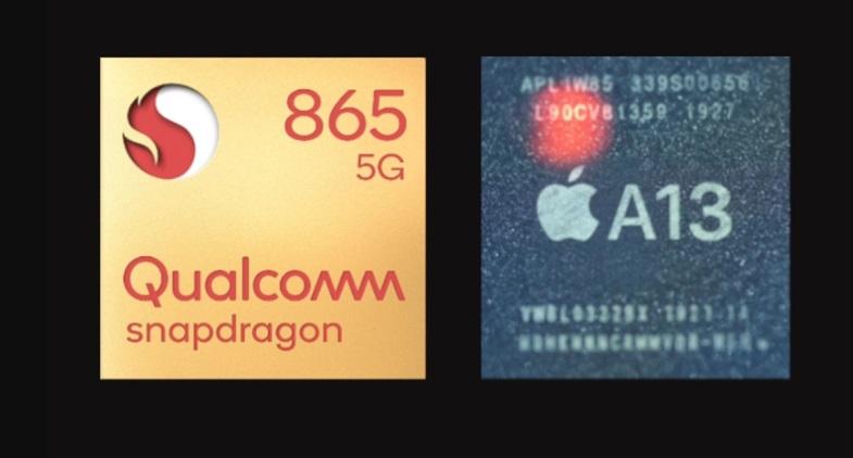 Snapdragon 865 ve Apple A13 Bionic hangisi daha güçlü?