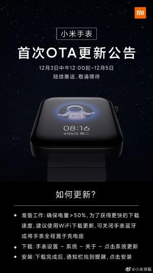 iPhone kullanıcıları müjde! Xiaomi Mi Watch için önemli güncelleme!