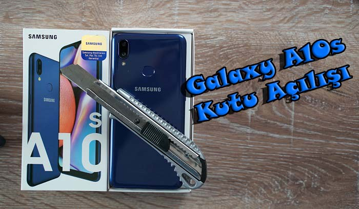 Galaxy A10s kutu açılışı – En çok satan Android telefon