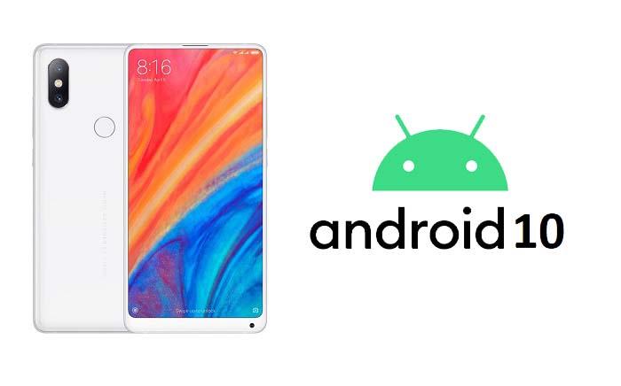 Xiaomi durmuyor! Xiaomi Mi MIX 2S Android 10 aldı