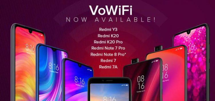 Redmi kullanıcılarına müjde. O cihazlar artık VoWifi destekleyecek!!!